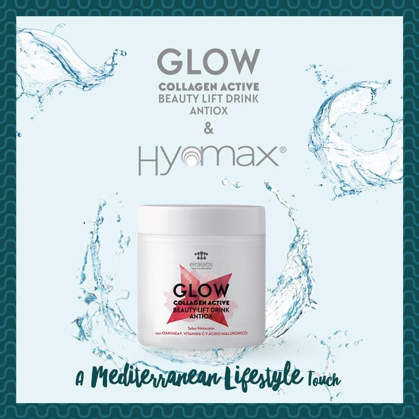 Glow & Hyamax. Ácido hialurónico hidratación Premium