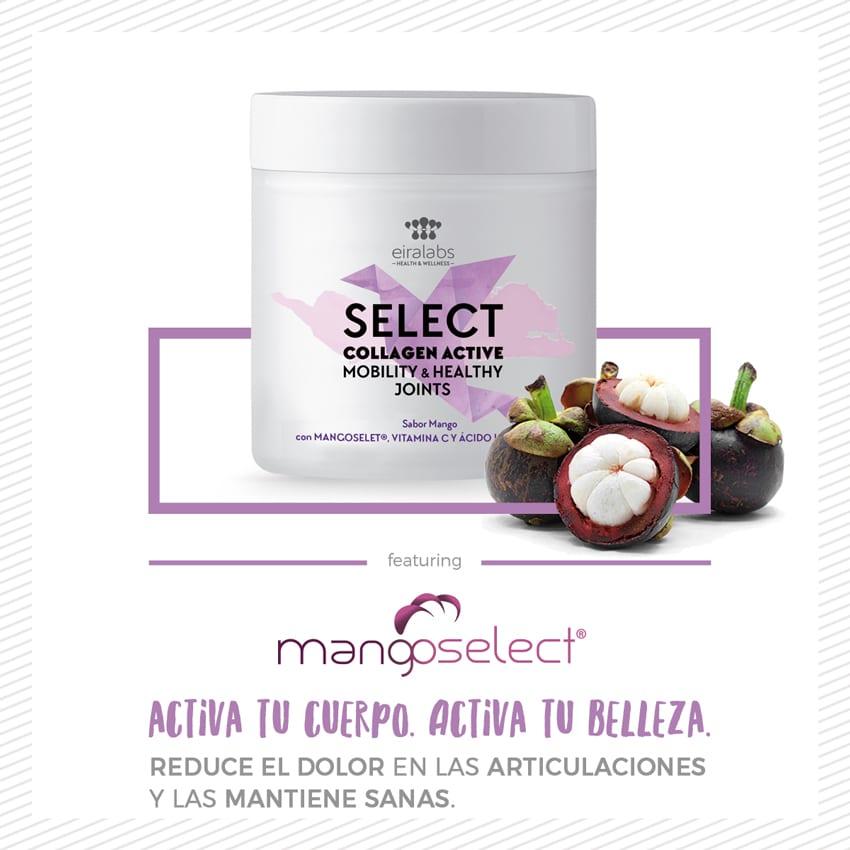 Select Collagen Active. Reduce el dolor de tus articulaciones en 5 días.