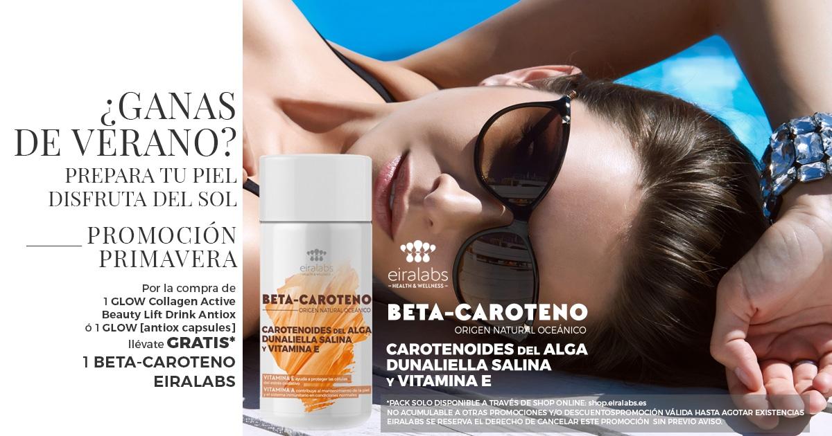 Beta-caroteno. Prepara tu piel para el verano